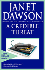 A Credible Threat by Janet Dawson